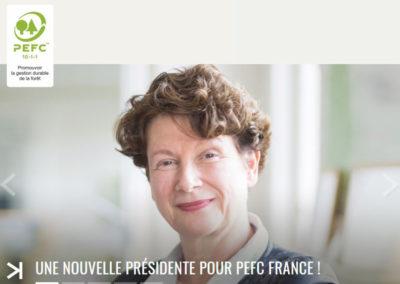 Nouvelle présidente PEFC France